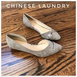 CL Chinese Laundry Heel Flats